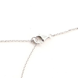 Cartier Diamants Legers Pendant Necklace 18K White Gold and Diamond XS