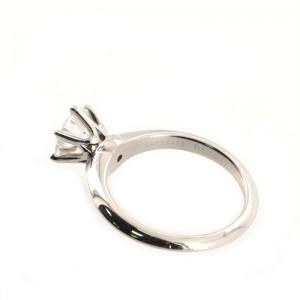 Tiffany & Co. Solitaire Ring Platinum with RBC Diamond G/VVS2 1.32 CT 5.75 - 51