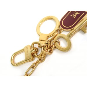Louis Vuitton Brass Key Ring