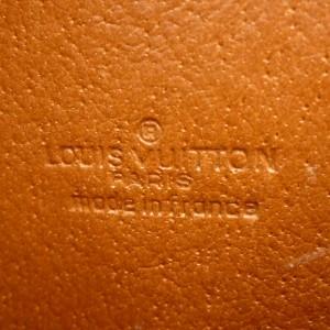 LOUIS VUITTON Monogram canvas Poche Documents Clutch