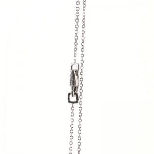 Louis Vuitton Empreinte Pendant Necklace 18K White Gold