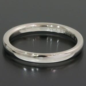 Van Cleef & Arpels Simple Band Mens Ring
