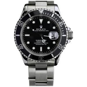 Rolex Submariner 16610 Stainless Steel & Black Dial 40mm Unisex Watch