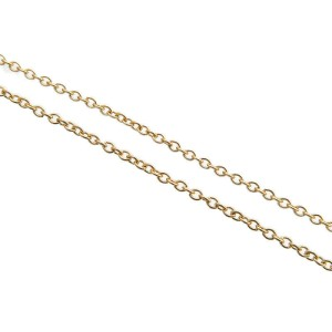 Tiffany&Co. By the Yard 18K Yellow Gold 1P Diamond Necklace