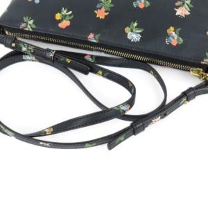 Praire Flower Leather Crossbody Bag