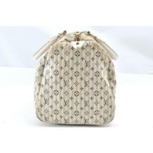 Louis Vuitton Monogram Mini Lin Croisette Speedy 30 Hand Bag M95550