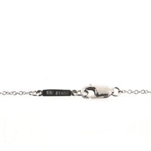 Harry Winston Cross Pendant Necklace Platinum with Diamonds Mini