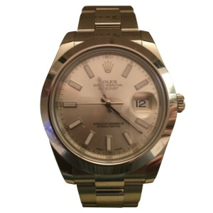 Rolex Datejust Stainless Steel 36mm Watch