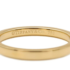 Tiffany & Co. Diamond & 18k yellow gold Novo Half Circle Ring