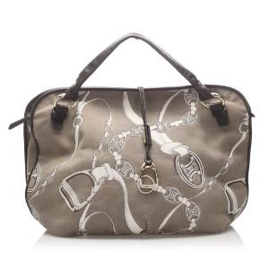 Macadam Bittersweet Canvas Handbag