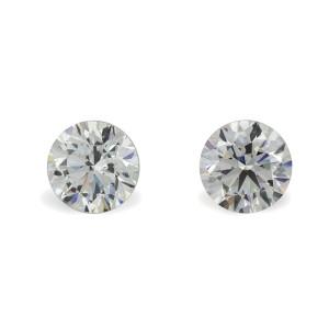 Diamond 4.02ct F/VS2 GIA Certificate Earrings