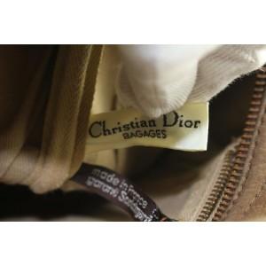 Dior Embossed Suede Monogram Trotter Boston Bag 712da323