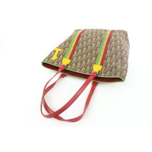Dior Rasta Monogram Trotter Book Tote Bag Jamaican Motif 255da56