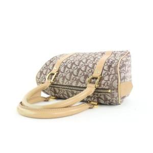 Dior Small Tan Monogram Trotter Boston Bag 282da217