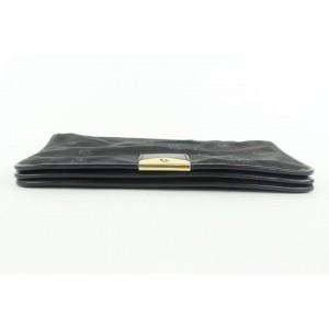 Dior Black Logo Chail Flap Shoulder Bag 910da414