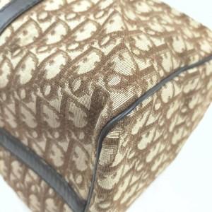 Christian Dior Brown Monogram Trotter Boston Duffle Bag 863195