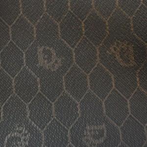 Christian Dior Black Monogram Trotter Honey Comb Boston Duffle Bag 862592