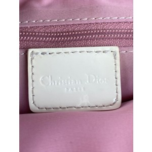 Dior Girly Chic Floral No. 1 Monogram Trotter 23dior610 Pink Coated Canvas Cross Body Bag