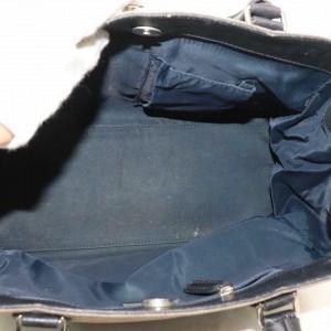 Dior Grey-blue Denim Signature Oblique Monogram Trotter Satchel 870694 Gray Canvas Tote