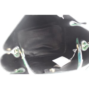 Dior Green Python Diorific Hobo 2way Bag 3DR01