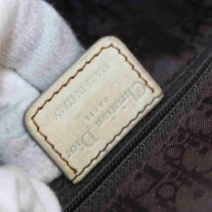 Dior Messenger Gaucho Saddle 873007 Beige Leather Shoulder Bag