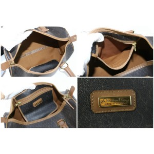 Dior Duffle Monogram Trotter Boston 15dz0724 Black Coated Canvas Weekend/Travel Bag