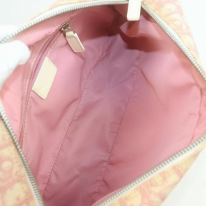 Christian Dior Christian Dior Shoulder Bag Trotter Pinks PVC 862581