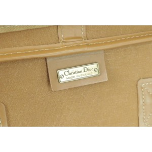 Dior Signature Oblique Monogram Trotter 2way Suitcase with Strap 16dk0102 Beige Coated Canvas Weekend/Travel Bag