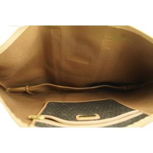 Dior XL Black x Brown Monogram Trotter Honeycomb Tote Bag 574da311
