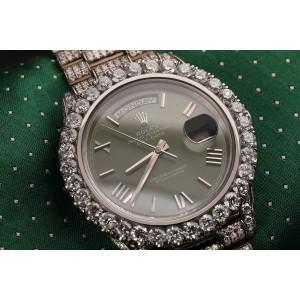 Rolex Date ROMAN 41mm Mens Watch