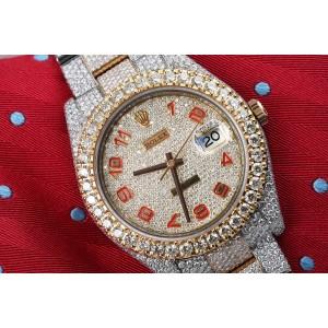 Rolex Diamond 2 41mm Mens Watch