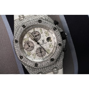 Audemars Piguet Offshore 25721ST.OO.1000ST.01 42mm Mens Watch