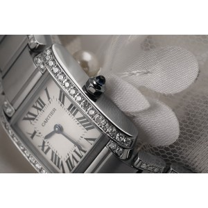 Cartier Ladies W51008Q3 with Natural Diamonds SS Watch