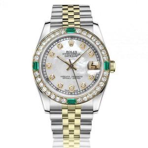 Rolex Diamond 68274 31mm Womens Watch