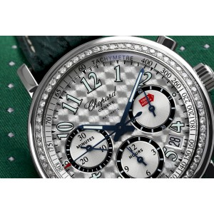 Chopard Mille Miglia Chronograph Custom Diamond Bezel 16/8331