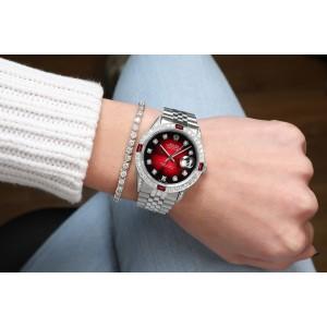 Rolex Diamond 16014 36mm Mens Watch