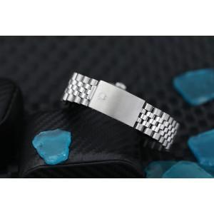 Rolex 36mm Datejust Custom Diamond Bezel, Navy Blue Diamond Roman Dial 16014