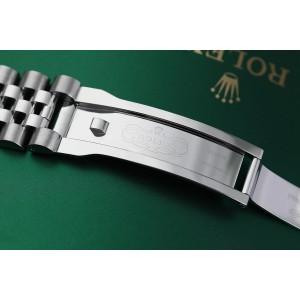 Rolex 36mm Datejust New Style Custom Diamond Bezel, Silver Diamond Dial Jubilee 116234