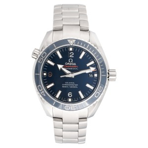 Omega Planet Ocean 232.30.44.22.03.001 Blue Dial Stainless Steel 43.5mm Mens Watch