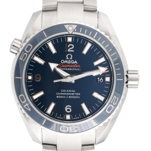 Omega Seamaster Planet Ocean 232.90.42.21.03.001 Titanium 42 mm Mens Watch