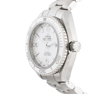 Omega Seamaster Planet Ocean 232.30.38.20.04.001 White Dial Stainless Steel 37.5mm Unisex Watch