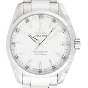 Omega Seamaster Aqua Terra 231.10.39.21.02.002 Silver Dial 38.5mm Mens Watch