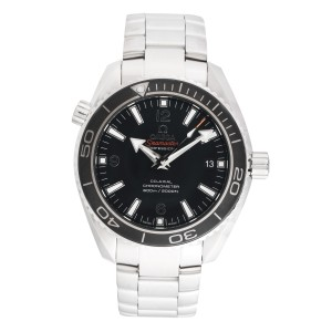 Omega Seamaster Planet Ocean 232.30.42.21.01.001 Black Dial 42mm Mens Watch
