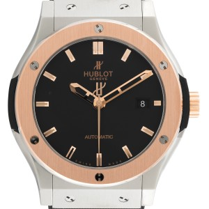 Hublot Classic Fusion 542NO1180RX Zirconium Automatic Black Dial 42mm Mens Watch