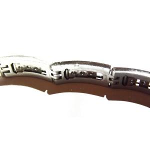 18K White Gold & Diamond Bracelet