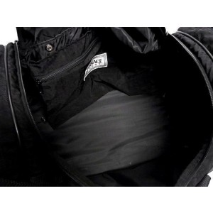 Other Duffle with Strap 237480 Black Nylon Weekend/Travel Bag