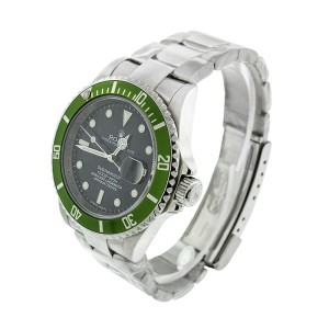 Rolex Submariner Green Bezel Anniversary Edition Watch