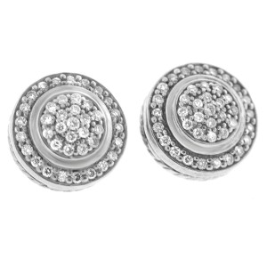 David Yurman Albion Diamond Earrings