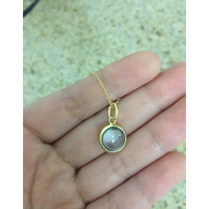 04694d81695f3 Tiffany & Co. 14K Yellow Gold & Blue Topaz Charm and Necklace