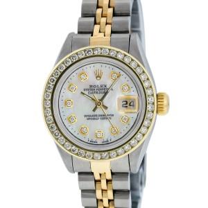 Rolex Datejust 79173 MOP Diamond 26mm Womens Watch